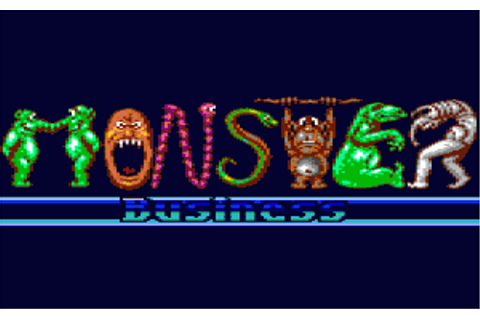 Monster Business - Games That Weren't