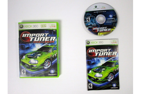 Import Tuner Challenge game for Xbox 360 (Complete) | The ...