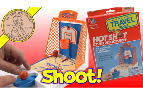 Hot Shot Basketball Rapid-Fire Travel Arcade Game - YouTube