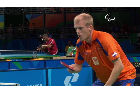Table Tennis | Netherlands v Belgium | Men's Singles Final ...