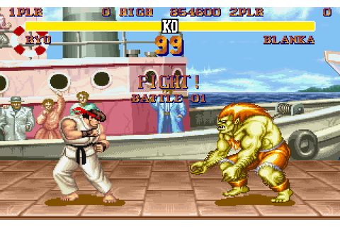 Download Street Fighter 2 action for DOS (1992 ...