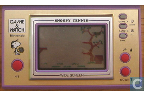 Snoopy Tennis - 3. LCD-spel / Mini-Arcade - Catawiki