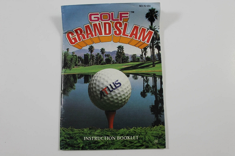 Manual - NES Golf Grand Slam