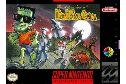 Adventures of Dr. Franken SNES Super Nintendo