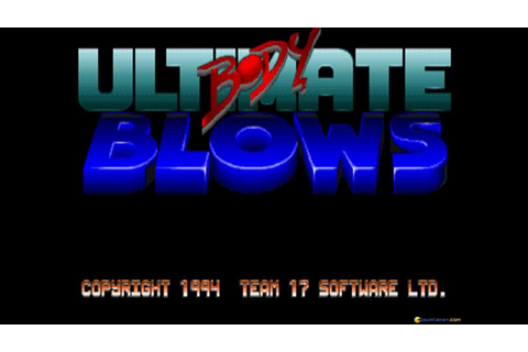 Ultimate Body Blows gameplay (PC Game, 1994) - YouTube