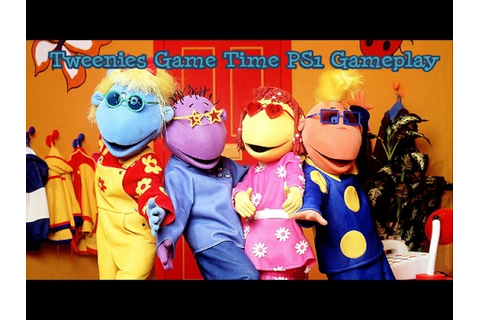 Tweenies Game Time PS1 Gameplay - YouTube