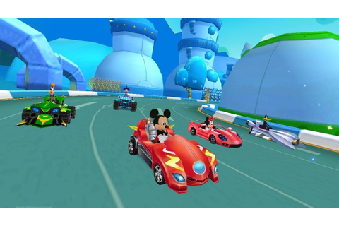 Mickey Roadster Racing Clubhouse (Trailer) | Game By ...