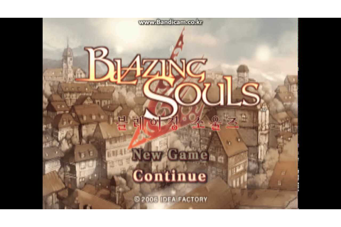 [PS2 Game] Blazing Souls - 블레이징 소울즈 Part 1 - YouTube