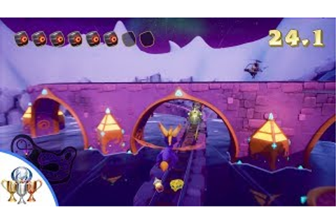 Spyro the Dragon Icy Flight 100% PLUS Fly Like an Eagle ...