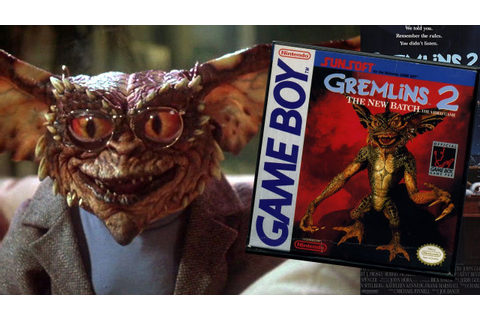 Gremlins 2 Game Boy short review by Mike - YouTube