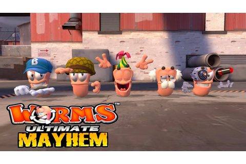 Let's Play Worms: Ultimate Mayhem -Team Death Match ...