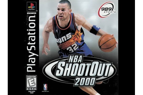NBA ShootOut 2000 (PlayStation) - West All-Stars vs. East ...