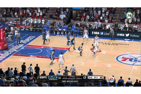 NBA Live 15: Rising Star First NBA Game - YouTube