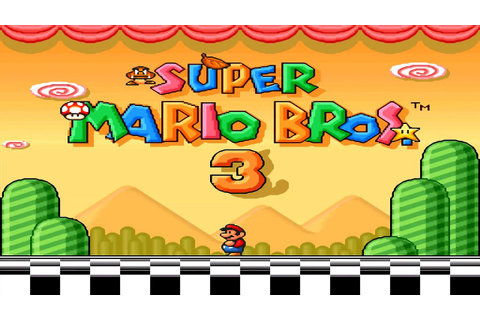 Super Mario Bros. 3 HD [ Intro Title Screen & In Game ...