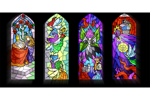 How to Make a Stained Glass Game: Inspirations - Elf Games ...
