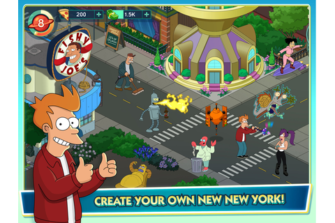 Trailers: TinyCo & FoxNext Blast Off with 'Futurama ...