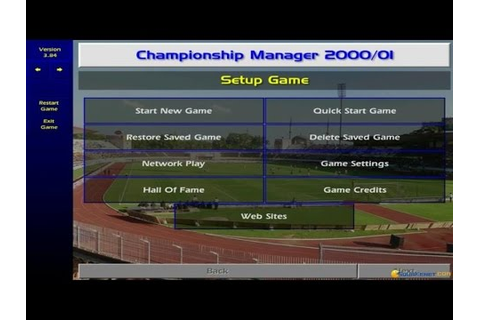 Championship Manager: Season 00/01 gameplay (PC Game, 2000 ...