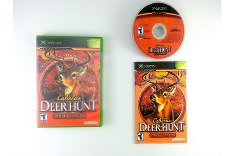 Cabela's Deer Hunt 2004 game for Xbox (Complete) | The ...