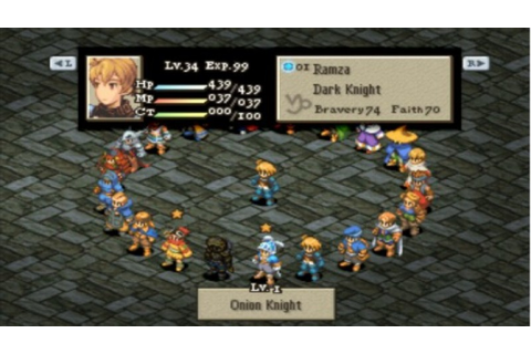 Final Fantasy Tactics Director Shares Images of Canceled ...