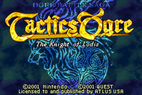 Tactics Ogre: The Knight of Lodis Download Game | GameFabrique