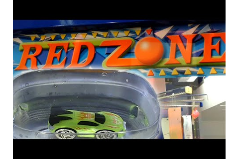 Red Zone Arcade Game- Color Changing Race Car Toy Review ...