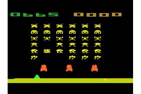 Space Invaders Atari 2600 Review - YouTube