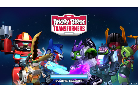 Angry Birds Transformers Headmaster has arrived ...