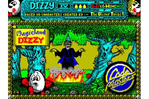 Magicland Dizzy Spectrum In-Game Music - YouTube