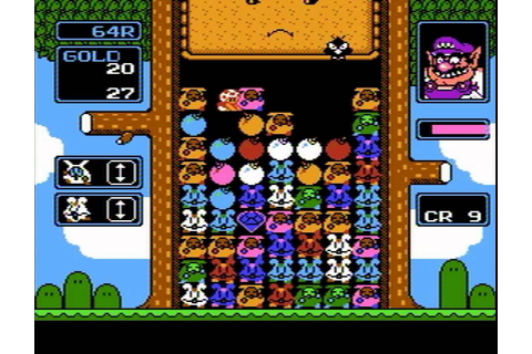 Wario's Woods (NES) Game B Levels 1-99 - YouTube