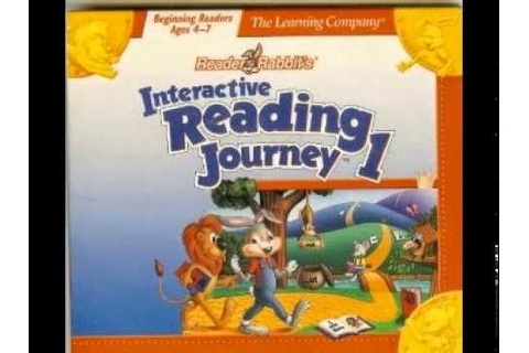 Reader Rabbit's Interactive Reading Journey 1 (1993-1996 ...