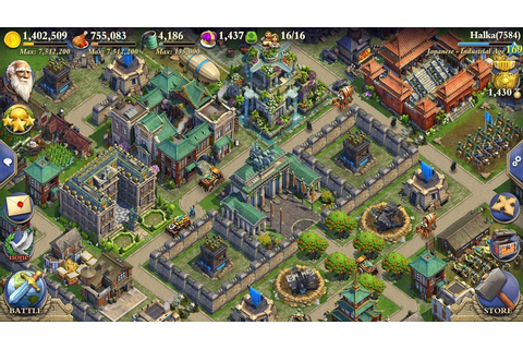 Play DomiNations on PC with BlueStacks