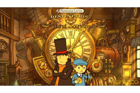 Professeur Layton Et Le Destin Perdu OST - 01 Theme of The ...
