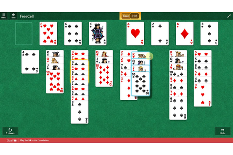 Microsoft Solitaire Collection - FreeCell - September 12 ...