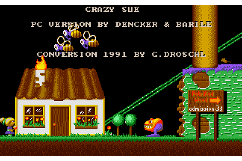 Crazy Sue (1991) MS-DOS game