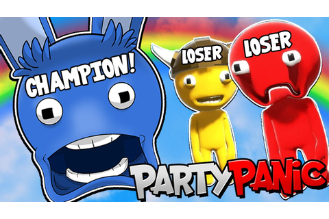 CHAMPION OF THE BEST MULTIPLAYER GAME!! | Party Panic [#2 ...