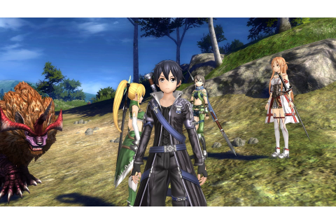 SWORD ART ONLINE: HOLLOW REALIZATION - Game of the Year ...