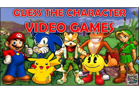 "Guess the ""VIDEO GAME CHARACTER"" (By Silhouette) Challenge ..."