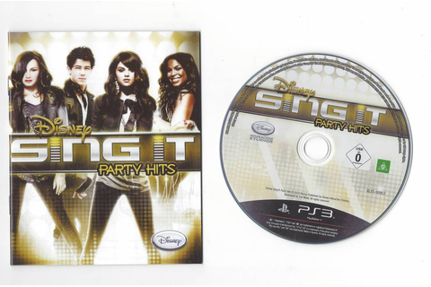 Disney Sing It Party Hits - Playstation 3 PS3 - Passion ...