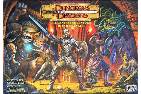 Dungeons & Dragons: The Fantasy Adventure Board Game ...