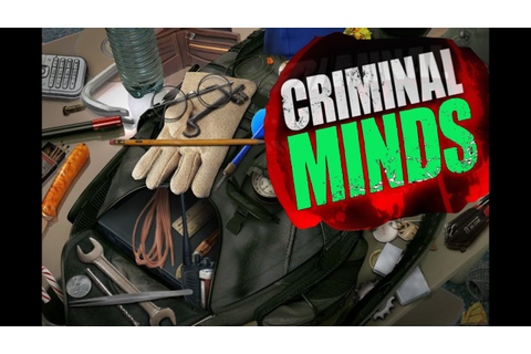 Criminal Minds Pc Game - Intro & Gameplay HD - YouTube