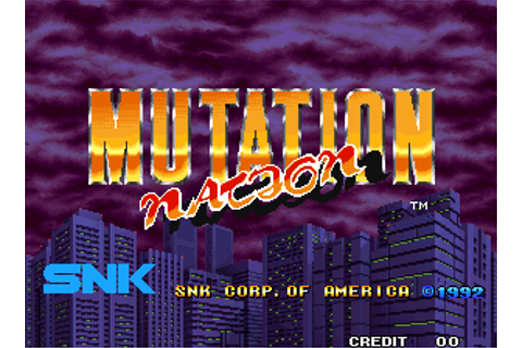 Mutation Nation - Videogame by SNK