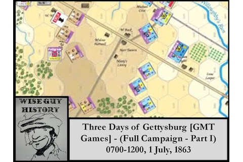 Three Days of Gettysburg [GMT Games] - (Full Campaign ...