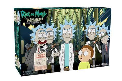 'Rick and Morty' to Receive the Board and Card Game ...