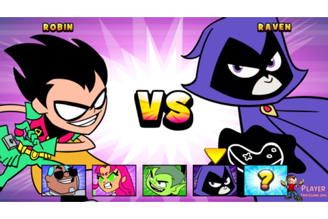 Teen Titans Go: Jump Jousts - Robin Vs Raven - Cartoon ...