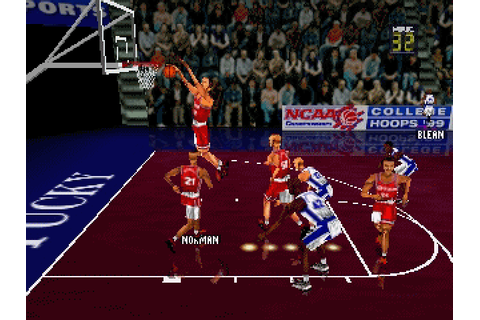 Fox Sports College Hoops '99 (1998) by Z-Axis N64 game