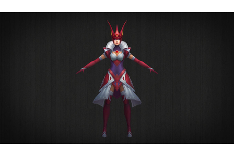 Queen of Diamonds Syndra - 3D Model + DL by LoL3DModels on ...