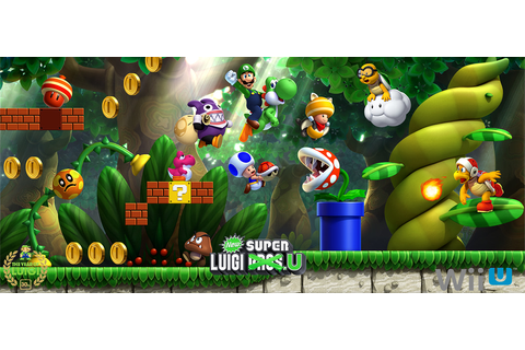 New Super Luigi U Promotional Group Artwork by Legend ...