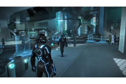 TRON: Evolution Screenshot: You start the game as usual ...