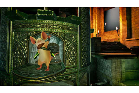 Polyarc's VR game 'Moss' is a 'Zelda'-esque mousey adventure