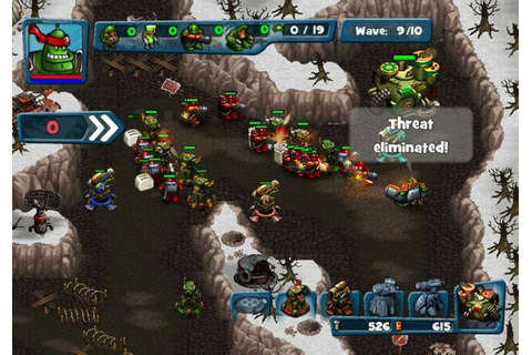 Robocalypse: Beaver Defense (WiiWare) Screenshots